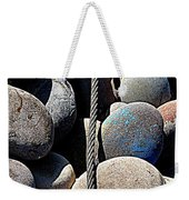 Pebbles And Cable Weekender Tote Bag