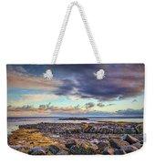 Pebbles And Sky  #h4 Weekender Tote Bag by Leif Sohlman
