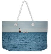 Peck Ledge Lighthouse Weekender Tote Bag