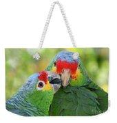 Pecking Order Weekender Tote Bag