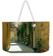 Pedestrian Walkway, Orvieto, Umbria Weekender Tote Bag