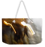 Pedestrians 4  6th Ave Series  Abstract Weekender Tote Bag