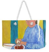 Peeling Apples Weekender Tote Bag