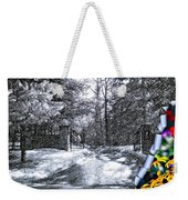 Peeling Winter Away Weekender Tote Bag