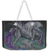 Pegasus Mare And Foal Weekender Tote Bag