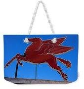 Pegasus Oil Sign Weekender Tote Bag