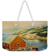 Peggys Cove  Harbor View Weekender Tote Bag