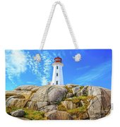 Peggy's Cove Light House Weekender Tote Bag