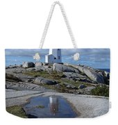 Peggys Cove Nova Scotia Canada Weekender Tote Bag