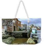 Peggys Cove Ns 001 Weekender Tote Bag