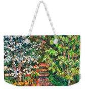 Peggys Garden Weekender Tote Bag