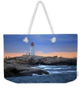 Peggy's Point Lighthouse, Nova Scotia, Canada Weekender Tote Bag