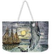 Pehe Nu-e: Moby Dick Weekender Tote Bag