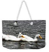 Pekin Ducks Weekender Tote Bag