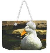 Pekin Pop Top Duck Weekender Tote Bag