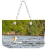 Pelican Drifting Along Weekender Tote Bag