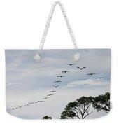 Pelican Formation Weekender Tote Bag