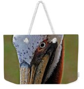 Pelican Head Weekender Tote Bag