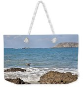 Pelican In The Water Weekender Tote Bag