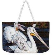 Pelican Love Weekender Tote Bag