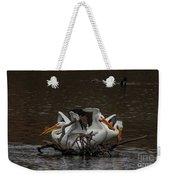 Pelican Party Weekender Tote Bag
