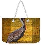 Pelican Poetry Weekender Tote Bag