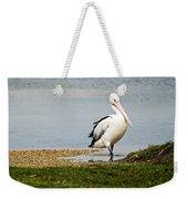 Pelican Pose Weekender Tote Bag