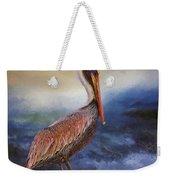 Pelican Seas Weekender Tote Bag