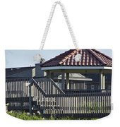 Pelican Weathervane Ocean Isle Norht Carolina Weekender Tote Bag