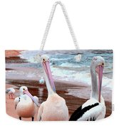 Pelicans At Pearl Beach 5.2 Weekender Tote Bag