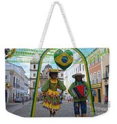 Pelourinho - Historic Center Of Salvador Bahia Weekender Tote Bag