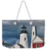 Pemaquid Point Lighthouse 4821 Weekender Tote Bag