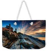 Pemaquid Sunrise Weekender Tote Bag