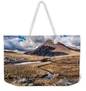Pen Yr Ole Wen Mountain Weekender Tote Bag