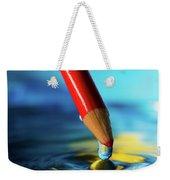 Pencil Drip Weekender Tote Bag