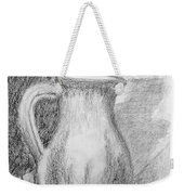 Pencil Pitcher Weekender Tote Bag