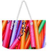 Pencils Weekender Tote Bag
