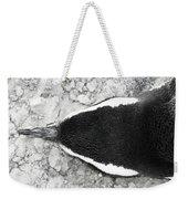 Penguin From Above Weekender Tote Bag