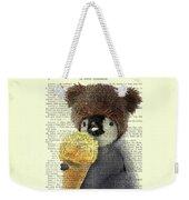 Penguin Ice Cream Weekender Tote Bag