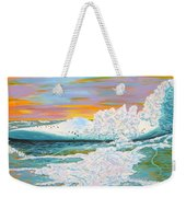 The Last Iceberg Weekender Tote Bag