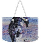 Penguin Love Weekender Tote Bag