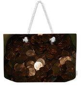 Pennies Weekender Tote Bag