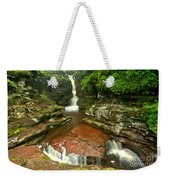 Pennsylvania Red Rock Falls Weekender Tote Bag