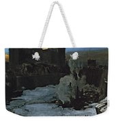 Pennsylvania Station Excavation Weekender Tote Bag