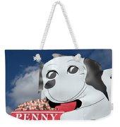 Penny Dog Food Sign 3 Weekender Tote Bag
