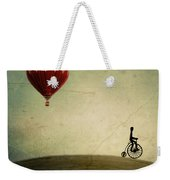 Penny Farthing For Your Thoughts Weekender Tote Bag