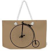 Penny Farthing Sepia Weekender Tote Bag