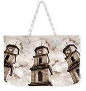 Penryn Clock Tower In Sepia Weekender Tote Bag