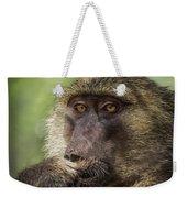 Pensive Baboon Weekender Tote Bag