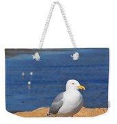 Pensive Seagull Weekender Tote Bag